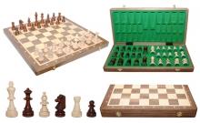 Шахматы Турнирные №6 Intarsia, 52 см, орех, Madon 309915