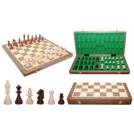 Шахматы Турнирные №6 Intarsia, 52 см, орех, Madon 309915 Madon