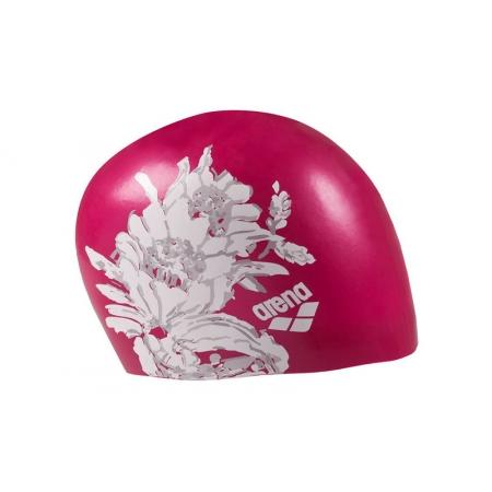 Шапочка для плавания ARENA AR-91440-16 SIRENE UNISEX (силикон, розовый)