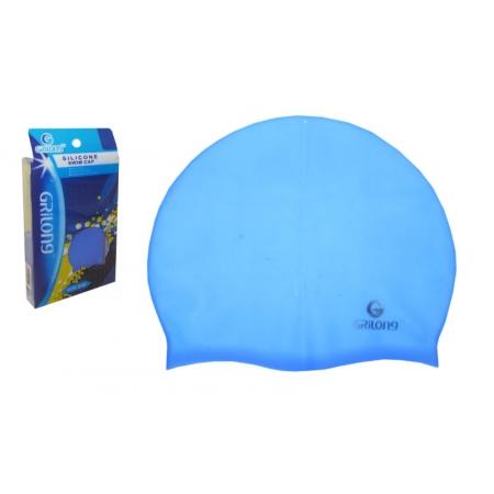 Шапочка для плавания GRILONG PL-3005 (силикон, цвета в ассортименте)