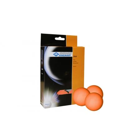 Шарики для настольного тенниса (12шт) DONIC MT-618047 JADE (пластик, d-40мм, оранжевые)