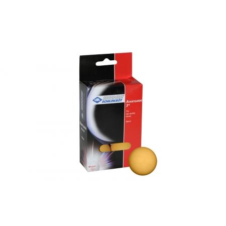 Шарики для настольного тенниса (6шт) DONIC MT-618037 AVENTGARDE 3star (пластик, d-40мм, оранжевые)