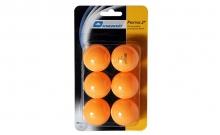 Шарики для настольного тенниса (6шт) DONIC MT-658028 PRESTIGE 2star (пластик, d-40мм, оранжевые)