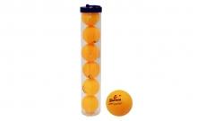 Шарики для настольного тенниса (6шт) в пластик. боксе MT-6606-OR Haoxin (пластик, d-40мм, оранжевые)