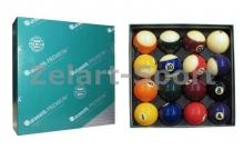 Шары для бильярда KS-0002 ARAMITH POOL SET PREMIER (d-57,2мм, в компл. 16 шаров, цветные)