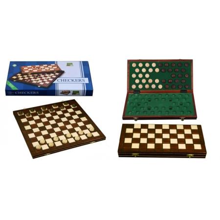 Шашки 100 клеток, 40 см, коричневые, Wegiel 208801