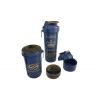 Шейкер 3-х камерный для спортивного питания SMART SHAKER SIGN RONNIE COLEMAN 6020031 (800мл, синий)