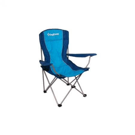 Шезлонг KingCamp Arms Chairin Steel (KC3818) Blue