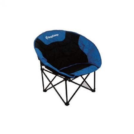 Шезлонг KingCamp Moon Leisure Chair (KC3816) Black/Blue