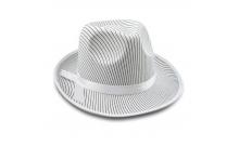 Шляпа мужская Мафия белая