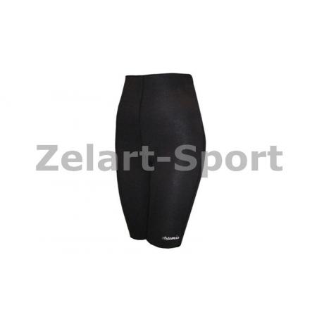 Шорты для похудения ZD-3010-L BERMUDA COTTON (наружный слой-неопрен, внутренний слой-хлопок, черный)