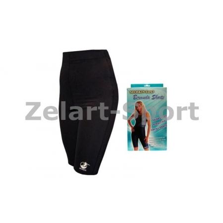 Шорты для похудения ZD-3043-S BERMUDA NEOSKIN zero 3 (3 слоя: neoskin, изопрен.рез, стрейч, черный)