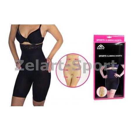 Шорты утягивающие (корректирующие) Slimming shorts ST-9162A-BK(2XL-3XL) (р-р 2XL-3XL, черный)