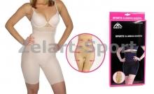 Шорты утягивающие (корректирующие) Slimming shorts ST-9162A-S(2XL-3XL) (р-р 2XL-3XL, телесный)