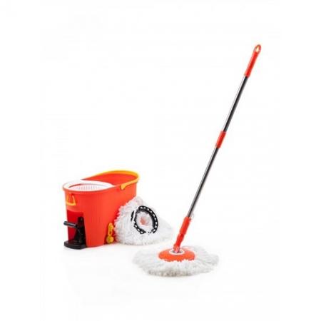 Швабра-вертушка со сливом ТОРНАДО ПЛЮС Spin mop (TD 0148)
