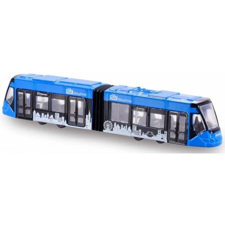 Siemens Avio Tram (синий), городской транспорт, 20 см, Majorette, 205 3303-6