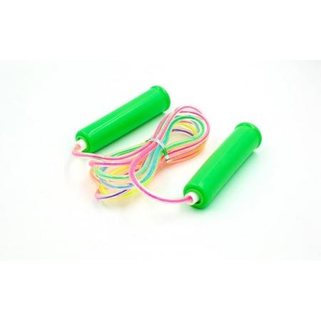 Скакалка детская с PVC жгутом FI-331 (l-2,2м, d-3мм, цвета в ассоритменте)