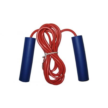 Скакалка с PVC жгутом KEPAI JL0702 (l-2,8м, d-5мм, цвета в ассортименте)