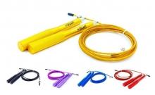 Скакалка скоростная Кроссфит с подшипником и стальным тросом с алюм. ручками FI-5100 (l-2,95м,d-3мм)