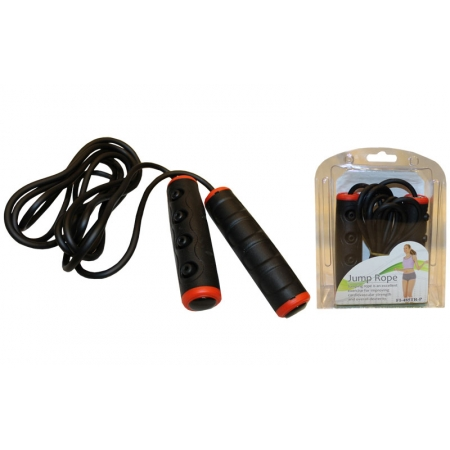 Скакалка скоростная с подшипником и PVC жгутом PS FI-485TR-P (l-2,7м, d-5мм)