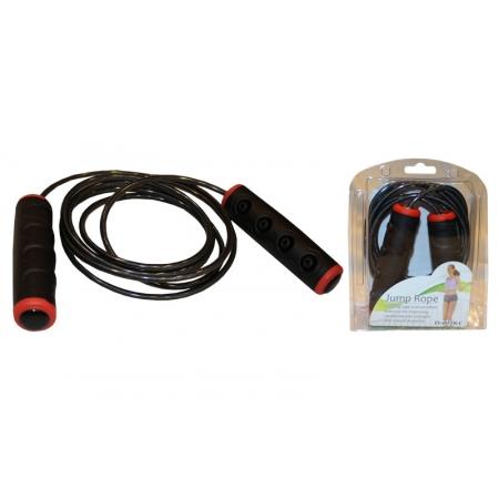 Скакалка скоростная с подшипником и стальным тросом PS FI-485TR-C (l-2,7м,d-5мм)