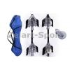 Скейтборд 2-х колесный RipStik (роллерсерф) SK-20 (алюмин, PU светящ., р-р деки 74х22х2см, 6902Z)