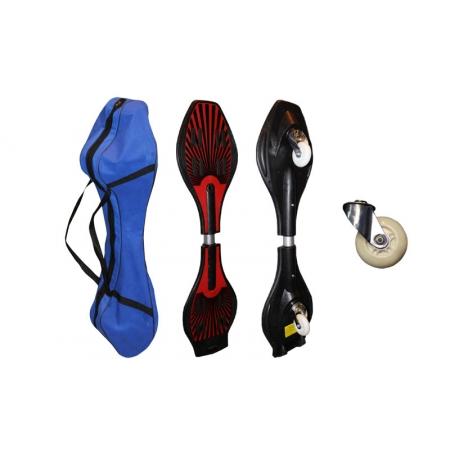 Скейтборд 2-х колесный RipStik (роллерсерф) SK-4354 (ABS, колесо-PU светящееся,р-р деки 84х22х1,5см)
