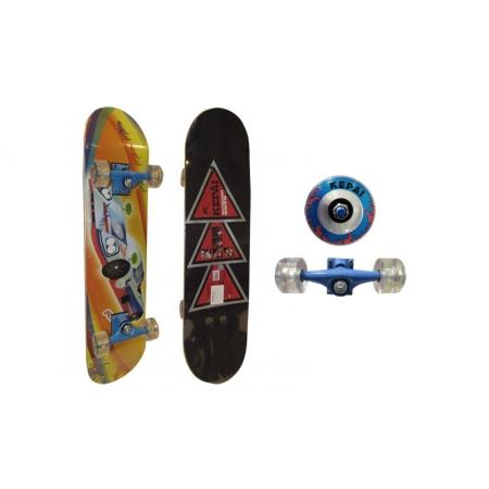 Скейтборд в сборе (роликовая доска) KEPAI SK-2288 (колесо-PU, р-р деки 79х20х1см, АВЕС-5)