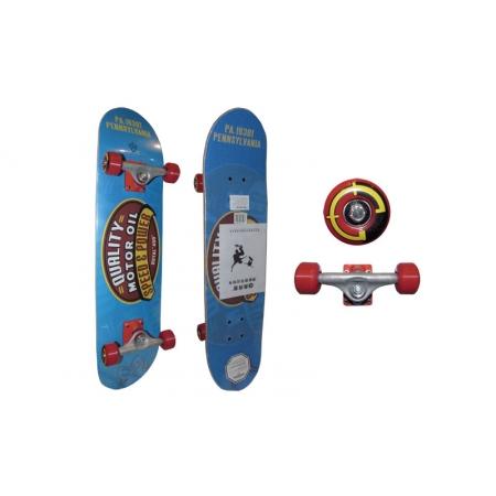 Скейтборд в сборе (роликовая доска) RADIUS RAD-311A (колесо-PU, р-р деки 79х19х1см, АВЕС-5)