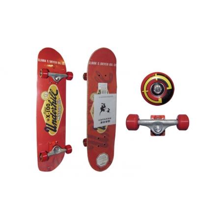 Скейтборд в сборе (роликовая доска) RADIUS RAD-311B (колесо-PU, р-р деки 79х19х1см, АВЕС-5)