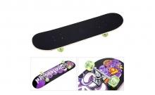 Скейтборд в сборе (роликовая доска) SK-052 (колесо-PU, р-р деки 78х20х1,2см, 608Z)