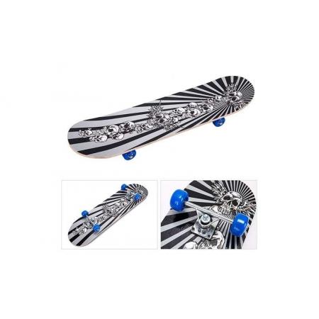 Скейтборд в сборе (роликовая доска) SK-171 (колесо-PVC, р-р деки 78х20х1,2см, 608Z)