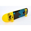 Скейтборд в сборе (роликовая доска) SK-5615-4 (колесо-PU, р-р деки 79х19х1см, АВЕС-7, желтый)