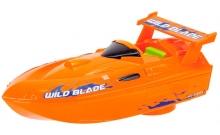 Скоростной катер, оранжевый, 15 см, Dickie Toys, 377 2001-1