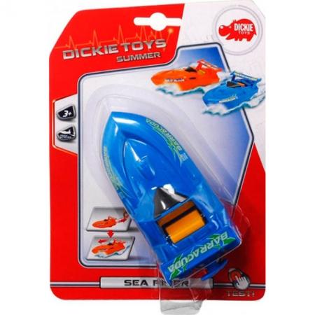 Скоростной катер, синий, 15 см, Dickie Toys, 377 2001-2