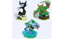 Skylanders. Набор из трех фигурок: Hex, Zap, Dino-rang