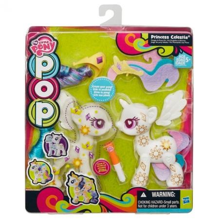 Создай свою пони Принцесса Селестия. Поп-конструктор. My Little Pony, белый, B0375EU4-1