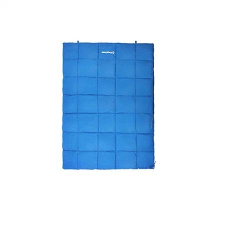 Спальный мешок KingCamp ACTIVE 250 DOUBLE (KS3189) L Blue