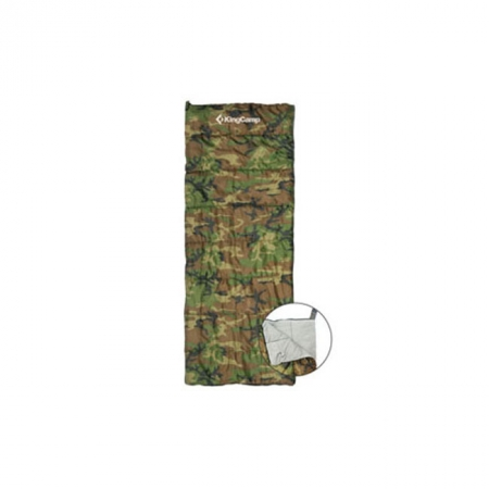 Спальный мешок KingCamp ARMY MAN (KS3135) L Camo