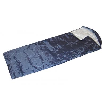 Спальный мешок одеяло с капюшоном SY-068 (PL, хлопок, 200г на м2,р-р 190+30х75см, тем.реж.+25 до +5)