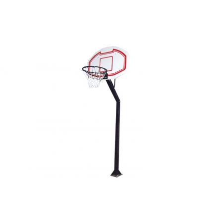 Стойка баскетбольная для улицы BA-3524 (щит-PP р-р110x75см,кольцо(16мм) d-45см,сетка,выс.260-305см)