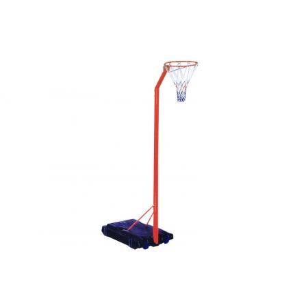 Стойка баскетбольная (мобильная) BA-3521 (кольцо-сталь (12мм) d-42см, сетка, регул.высота 210-260см)