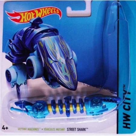 Street Shark, Машинка Мутант, Hot Wheels, Mattel, Street Shark, BBY78-11
