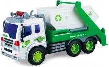 Строительный мусоровоз со светом и звуком (28 см), Junior trucker, 33026