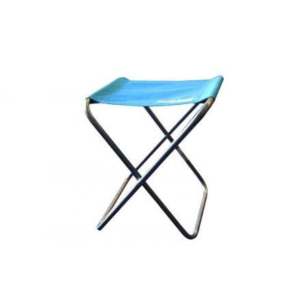 Стульчик туристический без спинки FS-94109 (р-р 23х18х21,5см, PL, металл, цвет ткани - синий)