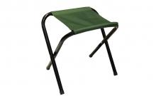 Стульчик туристический без спинки TY-3920 (р-р 23х19х26cм, PL, металл, цвет ткани - зеленый)