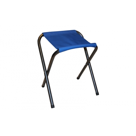 Стульчик туристический без спинки TY-3921 (р-р 30х22,5х34cм, PL, металл, цвет ткани - синий)