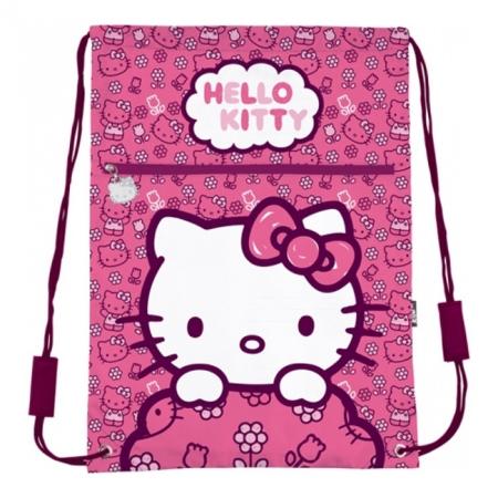 Сумка для обуви с карманом Kite Hello Kitty, HK14-601-2K