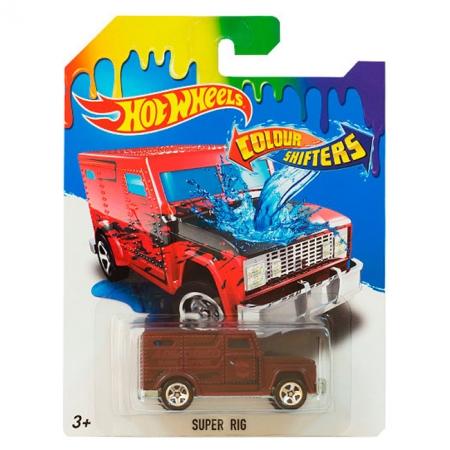 Super RIG, Машинка Измени цвет, Hot Wheels, Mattel, Super Rig, BHR15-15