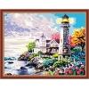 Свет маяка, серия Море, рисование по номерам, 40 х 50 см, Идейка, Свет маяка (KH192)